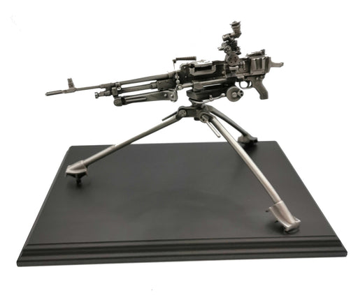 GPMG SF With Tripod Pewter Statue