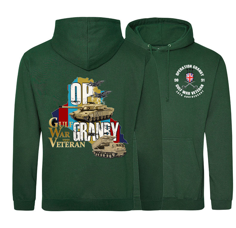 GULF WAR 30 Double Side Printed Hoodie