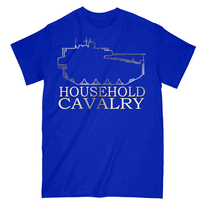 HOUSEHOLD CAVALRY ARMOURED Printed T-Shirt