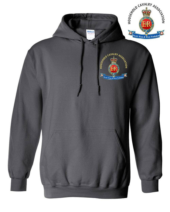 Hooded Sweatshirt - Household Cavalry Association North West & West Yorkshire Hoodie