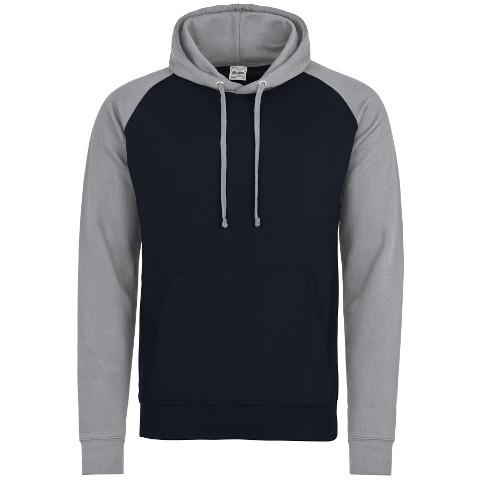 Hooded Sweatshirt - Regimental Baseball Hoodie