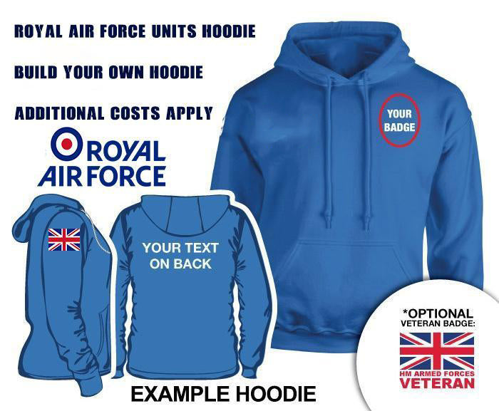 Royal Air Force UNITS Hoodie