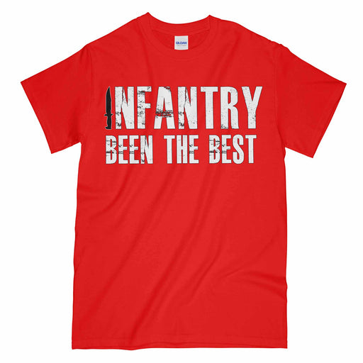 Infantry Been The Best Printed T-Shirt
