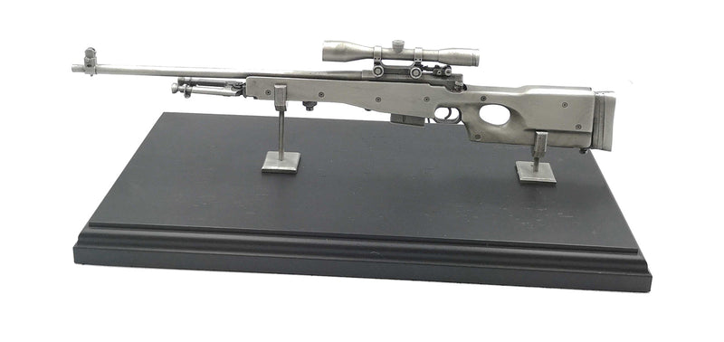 L96 Sniper Rifle Pewter Statue