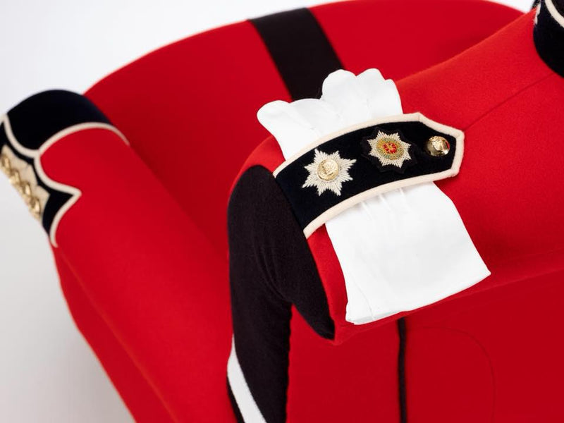 Military Chair - Bespoke Military Uniform Themed Chairs