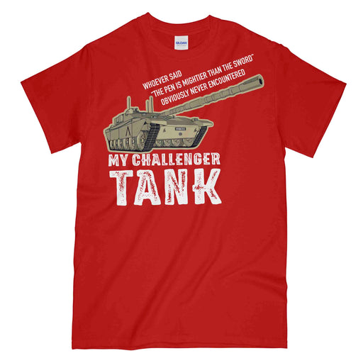 MY CHALLENGER TANK Printed T-Shirt