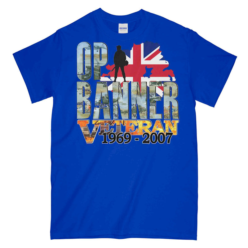 OP BANNER BATTLE SCARS Printed T-Shirt