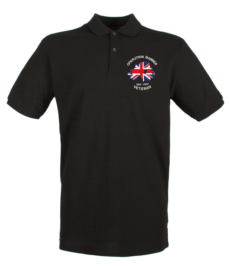 OP BANNER VETERAN Embroidered Polo Shirt
