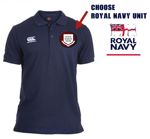 Polo Shirt (Canterbury) - Naval Unit Canterbury Pique Polo Shirt
