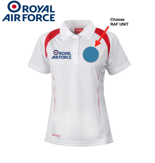 Polo Shirts - RAF Squadron's Performance Polo Shirt 'Build Your Own Shirt'