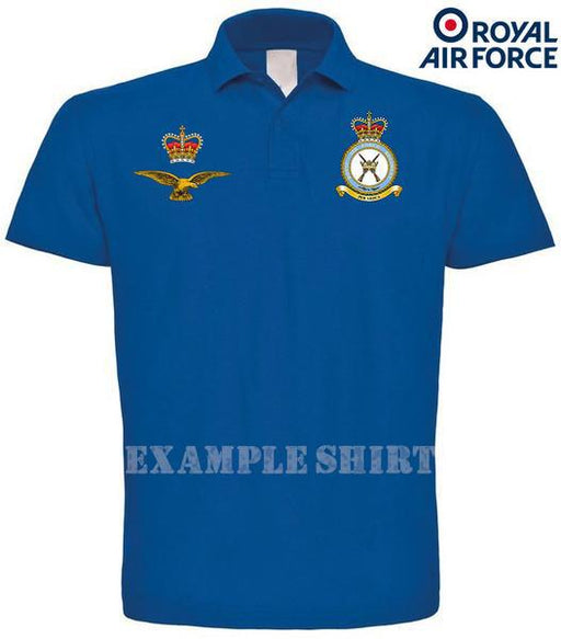 Polo Shirts - RAF UNITS Pique Polo Shirt - Build Your Own