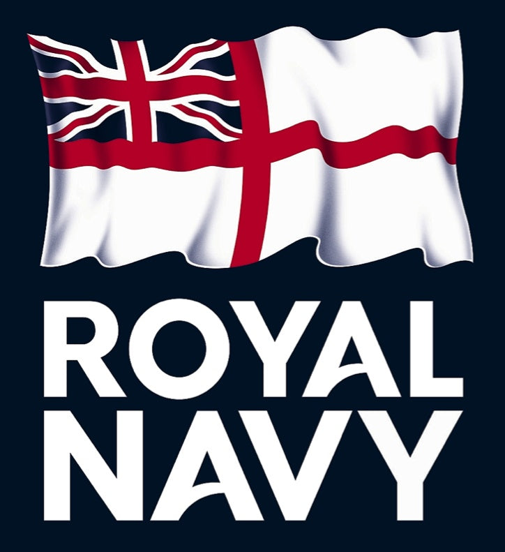 Polo Shirts - 'Royal Navy' Army V Navy Men's Performance Polo Shirt 2018