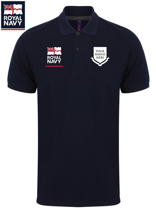Polo Shirts - Royal Navy UNITS Classic Pique Polo Shirt