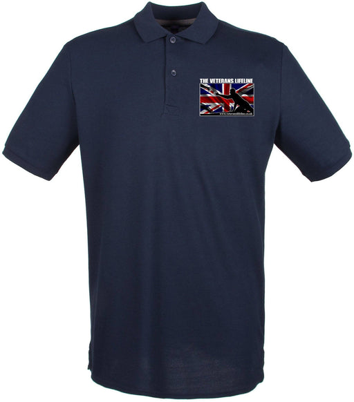 Polo Shirts - Veterans Lifeline Embroidered Pique Polo Shirt