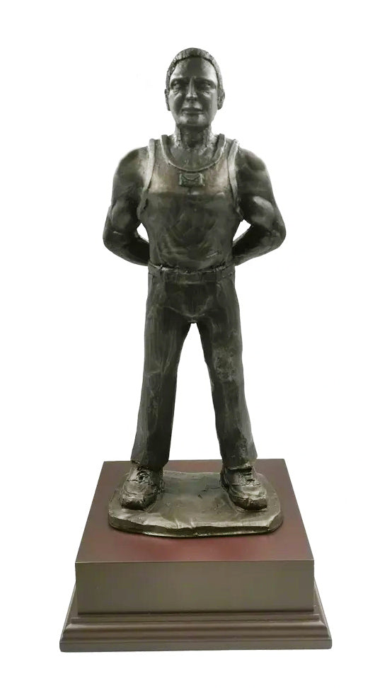 Armed Forces PTI Cold Cast Bronze Figurine