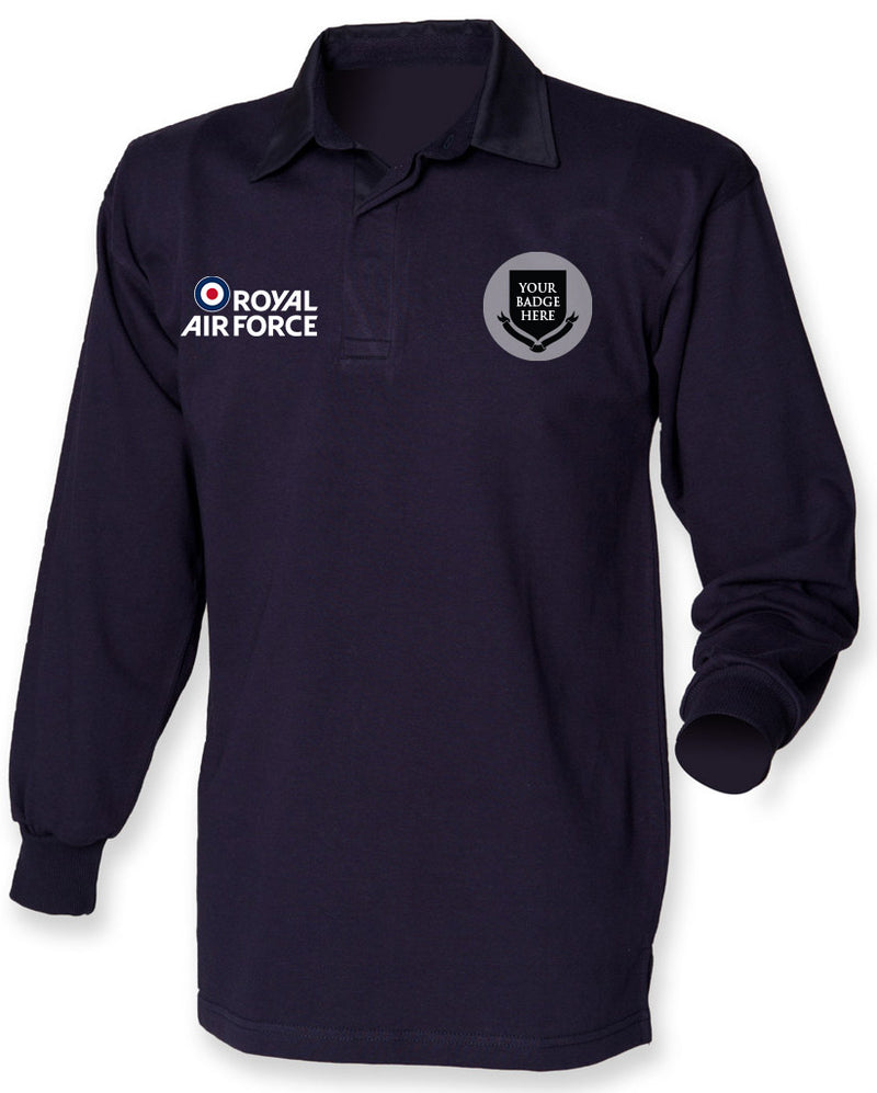 Royal Air Force UNITS Long Sleeve Men's Rugby Shirt
