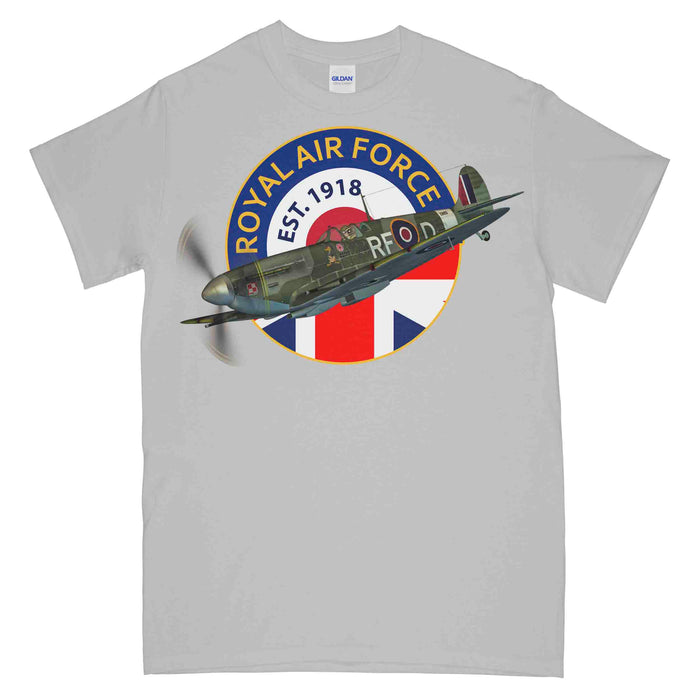 ROYAL AIR FORCE Since 1918 Printed T-Shirt