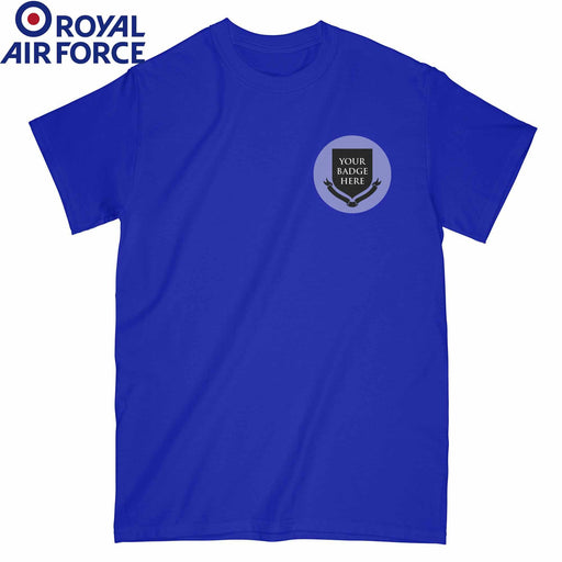 ROYAL AIR FORCE RAF UNITS Embroidered T-Shirt