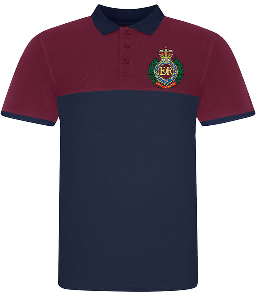 ROYAL ENGINEERS Pique Polo Shirt