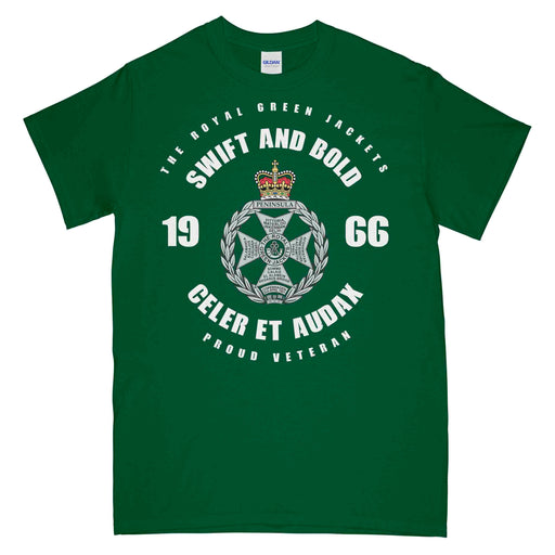 The Royal Green Jackets Veteran Printed T-Shirt