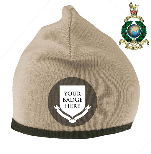 ROYAL MARINE UNITS Embroidered Beanie Hat