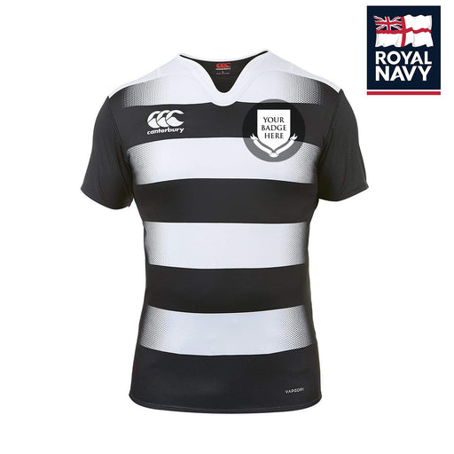 ROYAL NAVY UNITS Canterbury Hooped Rugby Shirt