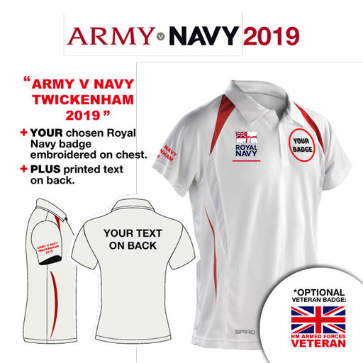 ROYAL NAVY UNITS Unisex Sports Performance Polo Shirt