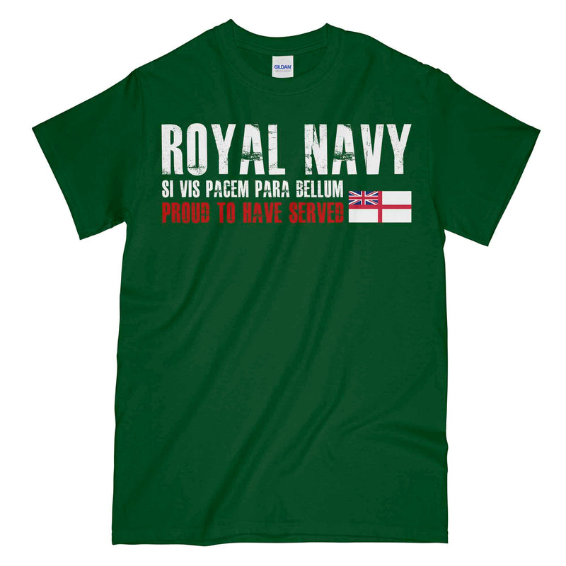ROYAL NAVY Proud To Have Served Unisex Printed T-Shirt