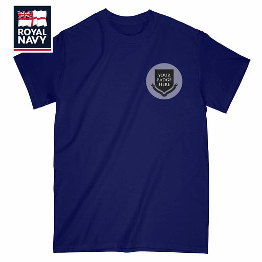 Royal Navy Units Embroidered T-Shirt