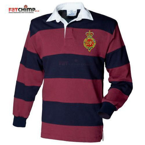 Rugby Shirt - The Household Cavalry Stripe BRB Rugby Shirt