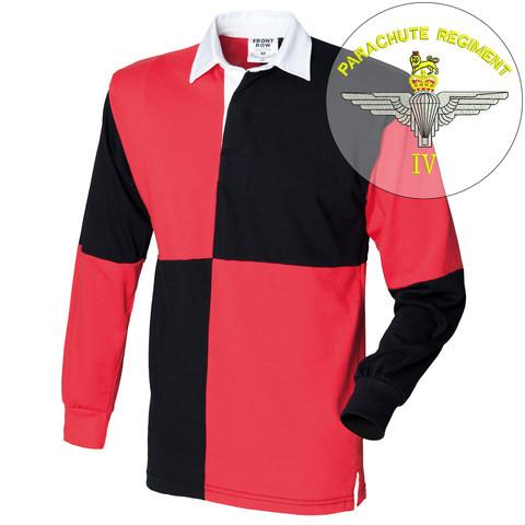 Rugby Shirts - 4 PARA Quartered Rugby Shirt