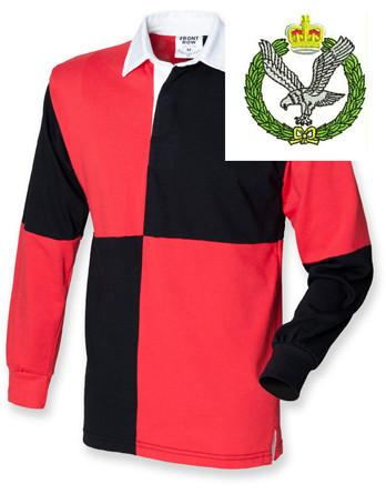 Rugby Shirts - Army Air Corps Quartered Rugby Shirt