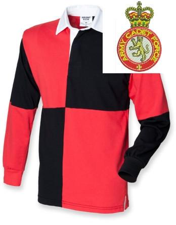 Rugby Shirts - Army Cadet Force Quartered Rugby Shirt