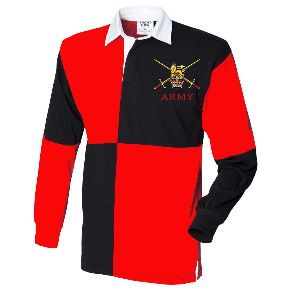Rugby Shirts - British Army Quartered Rugby Shirt