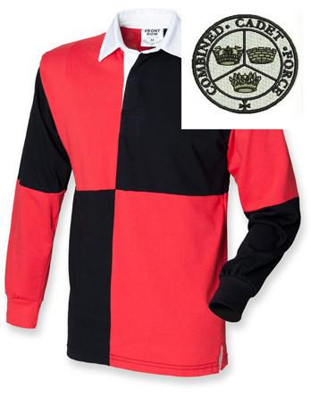 Rugby Shirts - Combined Cadet Force Quartered Rugby Shirt