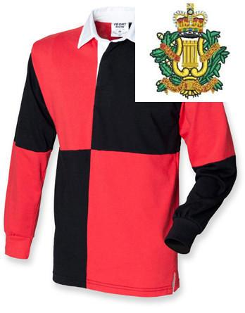 Rugby Shirts - Corps Of Army Music Quartered Rugby Shirt