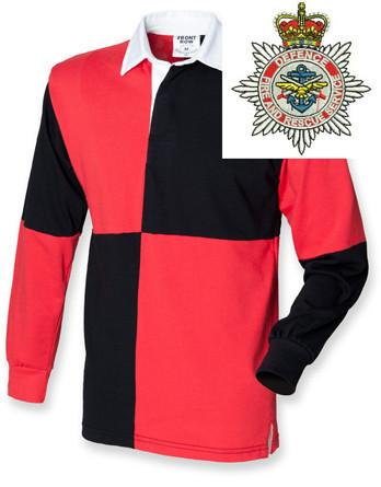 Rugby Shirts - Defence Fire And Rescue Service Quartered Rugby Shirt