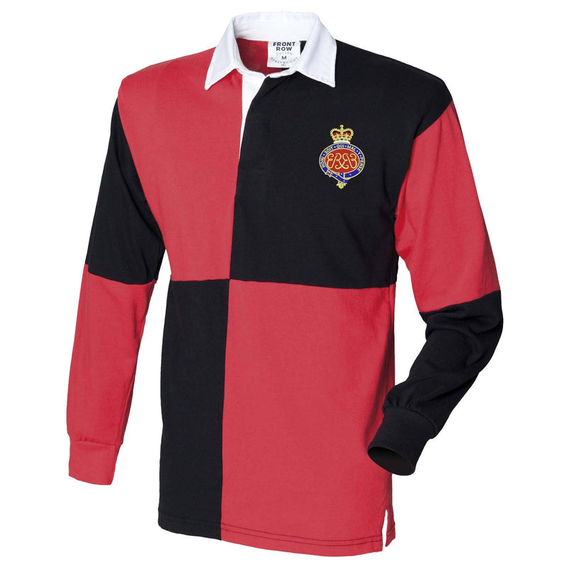 Rugby Shirts - Grenadier Guards Long Sleeve Quartered Rugby Shirt