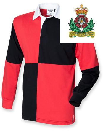 Rugby Shirts - Intelligence Corps Quartered Rugby Shirt
