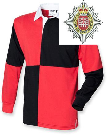Rugby Shirts - London Regiment Quartered Rugby Shirt