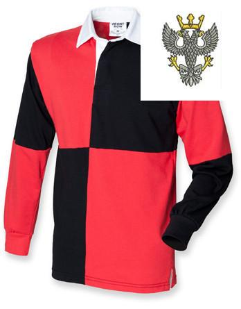 Rugby Shirts - Mercian Regiment Quartered Rugby Shirt
