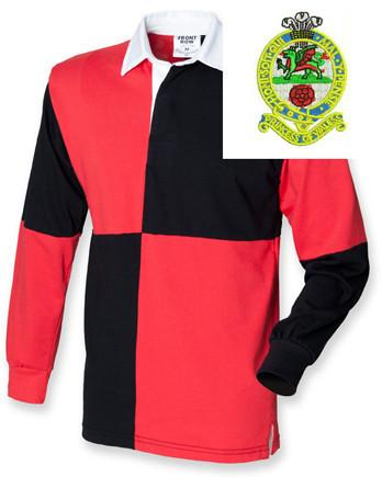 Rugby Shirts - Princess Of Wales's Quartered Rugby Shirt