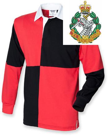 Rugby Shirts - Royal Army Dental Corps Quartered Rugby Shirt