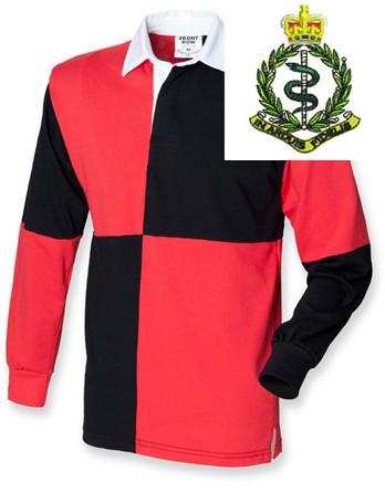 Rugby Shirts - Royal Army Medical Corps Quartered Rugby Shirt