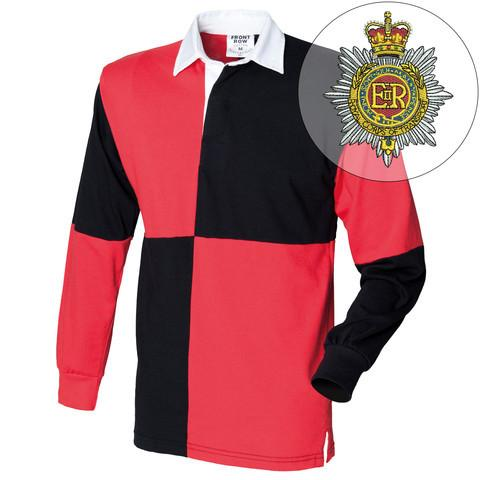 Rugby Shirts - Royal Corps Transport Quartered Rugby Shirt