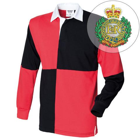 Rugby Shirts - Royal Engineers Quartered Rugby Shirt