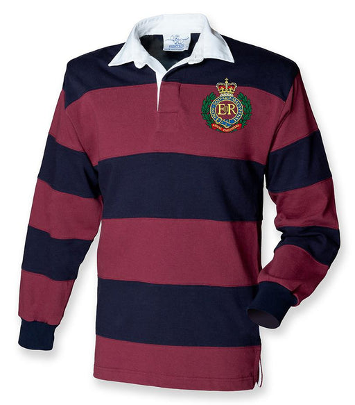 Rugby Shirts - Royal Engineers Stripe Rugby Shirt