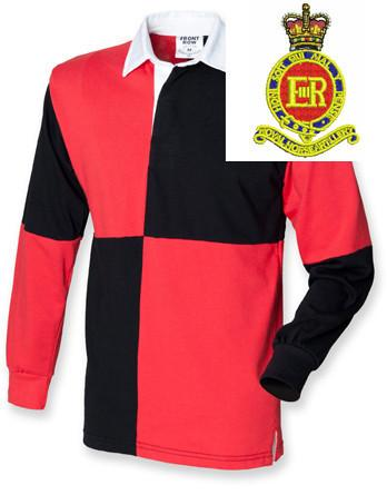 Rugby Shirts - Royal Horse Artillery Quartered Rugby Shirt