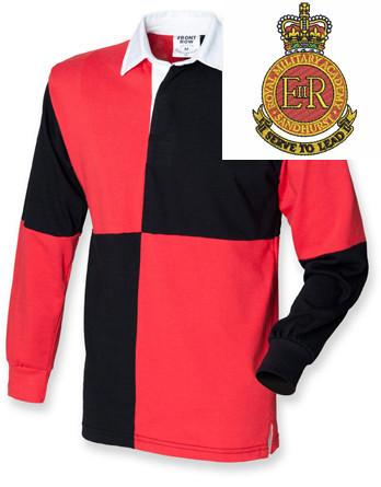 Rugby Shirts - Royal Military Academy Sandhurst Quartered Rugby Shirt