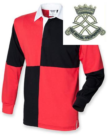 Rugby Shirts - Royal Yeomanry Quartered Rugby Shirt